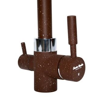 Смеситель Fonte Studio с краном питьевой воды коричневый
