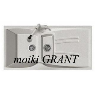 Гранитная мойка Grant Gallant светло-серая