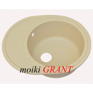 Гранитная мойка Grant Galaxy Ivory