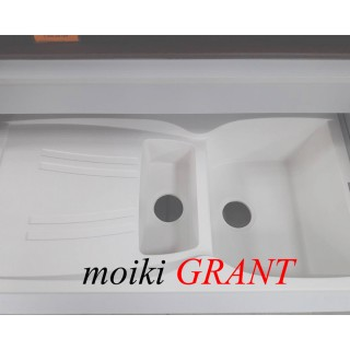 Гранитная мойка Grant Gallant белая